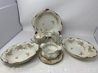 Gorgeous Lot of Warwick Porcelain China