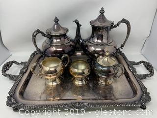 Silver-Plated Tea Set
