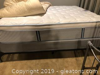Restonic Queen Mattress /Box Spring