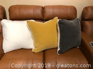 Three Accent Pillows