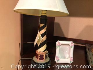 Lighthouse Table Lamp by Reliance