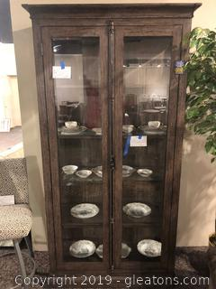 Beautiful Lighted Display Case with Furnlite