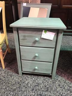 """Bay Harbor"" 3-Drawer Night Stand by Archibold"