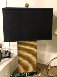 """New"" Designer Table Lamp by Market Place Wildwood"