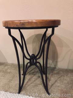 Horizon Home Copper Side Table