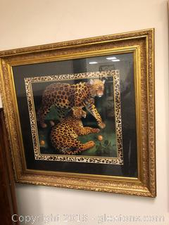 Framed Wall Art of Cheetahs