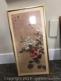 Asian Framed Wall Art