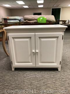 Antique White 2-door Cabinet