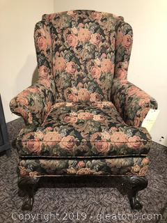American Furniture  of High Point Wing Chair