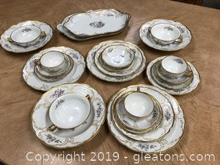 Gorgeous Rosenthal Sansouci China  Pieces From Germany  With Golden Trim and Enhancements