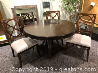 Dining Table and Four Chairs by Hooker Furniture