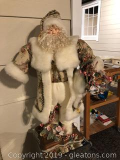 Free Standing Santa Claus