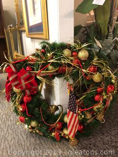 Large Beautiful Wreath