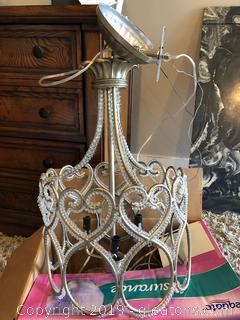 Beautiful Scroll Princess Hanging Light Fixture
