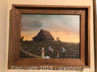 Cotton Pickers Original Artwork