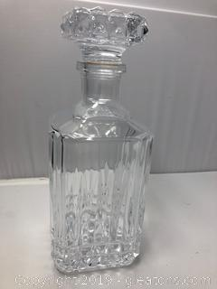 Exquisite Diamond Cut Decanter by Tiffany (A)