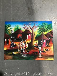Tribal Oil painting by Kennedy