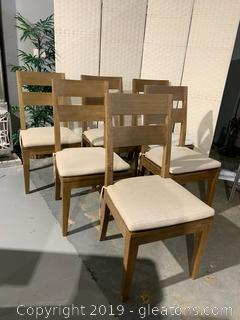 Crate & Barrel Dining Chairs