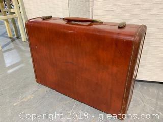 Vintage Samsonite Brown Suitcase