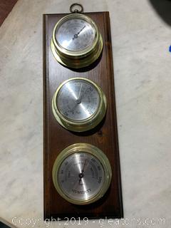 Pinehurst Vintage Barometer