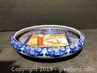 Beautiful Hand Painted Rep of China Bowl