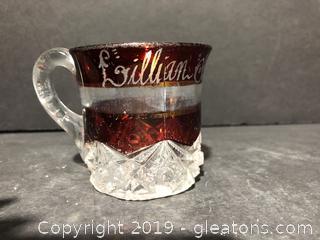 Antique Fenton Tea Cup