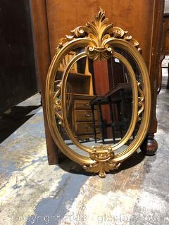 Italian Oval Mirror