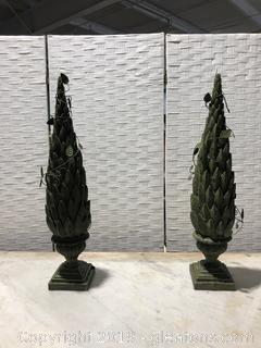 Pair of Decorative Finials