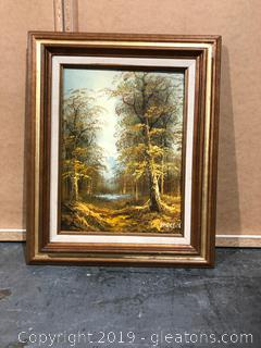Original Signed Landscape Oil Painting