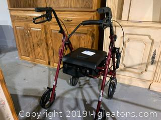 Drive Adjustable Height Walker
