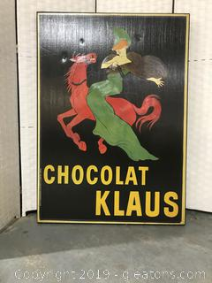 Chocolate Trench Reproduction Poster