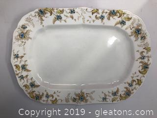 Brownfields Guild Pottery Platter - Ferncliffe