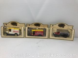 3 Model Trucks