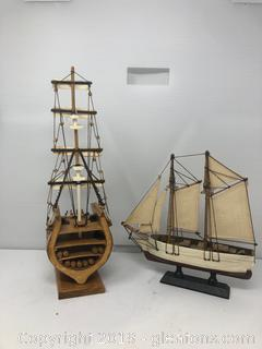 2 Wooden Ships