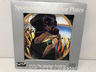 Sportsman's Collector Plates