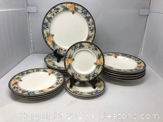 Mikasa Garden Harvest Dinnerware (Partial Pieces)