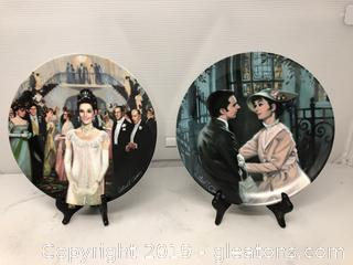 "2 Knowles Collector's Plates From ""My Fair Lady"""
