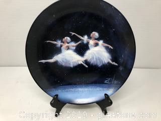 "1987 ""Dance of the Snowflakes"" Collector's Plate"
