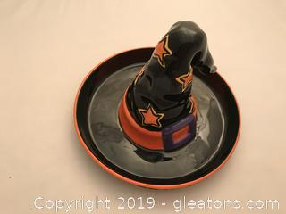 Bewitching Treats candy Dish