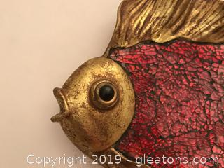 Angel fish wall plaque