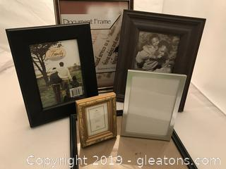 Nice picture frame lot