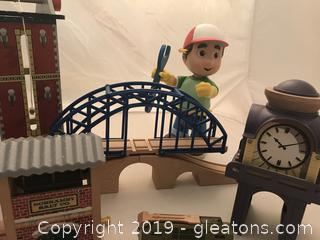 Thomas and friends accessories and Manny the builder