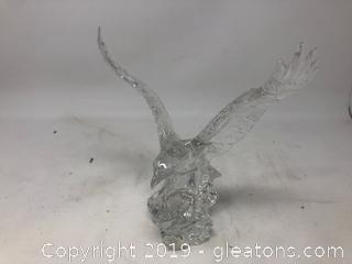 Crystal Eagle Statue 24% Lead Crystal