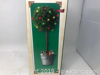 Hallmark Keepsake Ornament Sugar Plum Table Top Topiary