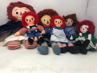 Raggedy Ann & Andy Lot