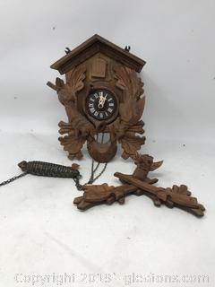 Cuckoo Wall Clock Parts