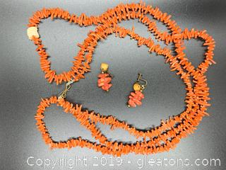Red Branch Coral Set 62""
