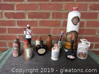 Miscellaneous Stoneware & Others Empty and Sold as Empty Bottles