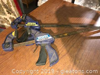 3 Pc Clamp Lot