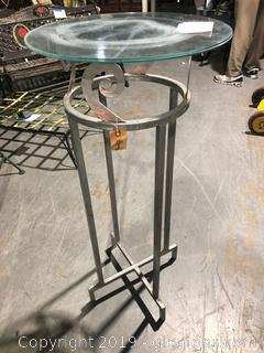 Solver Metal Accent Table